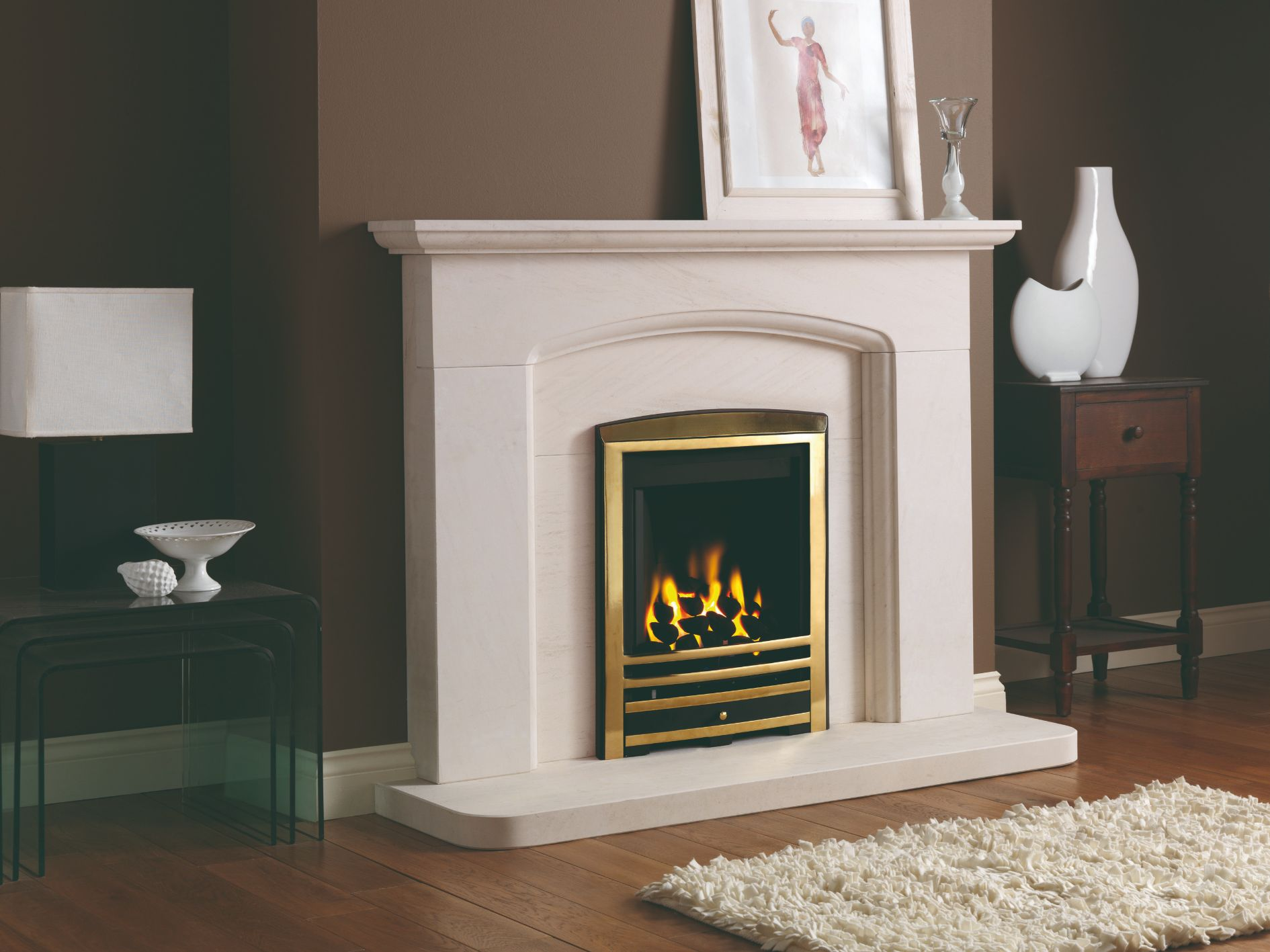 Cotswold Arch Fireplace Surround