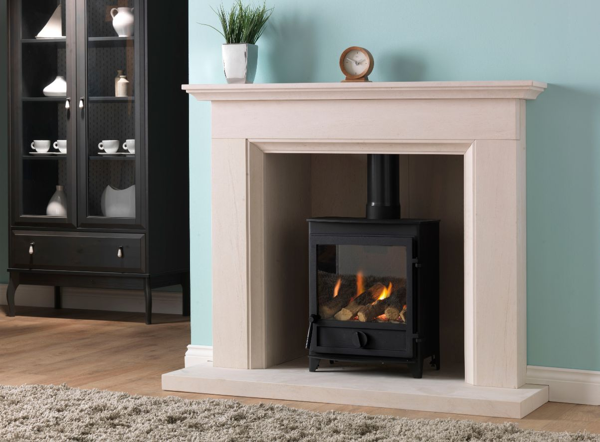 FPW Gas Stove, Gas Log Burner, Gas Wood Burner, in Aylesbury Gas Fireplace Suite