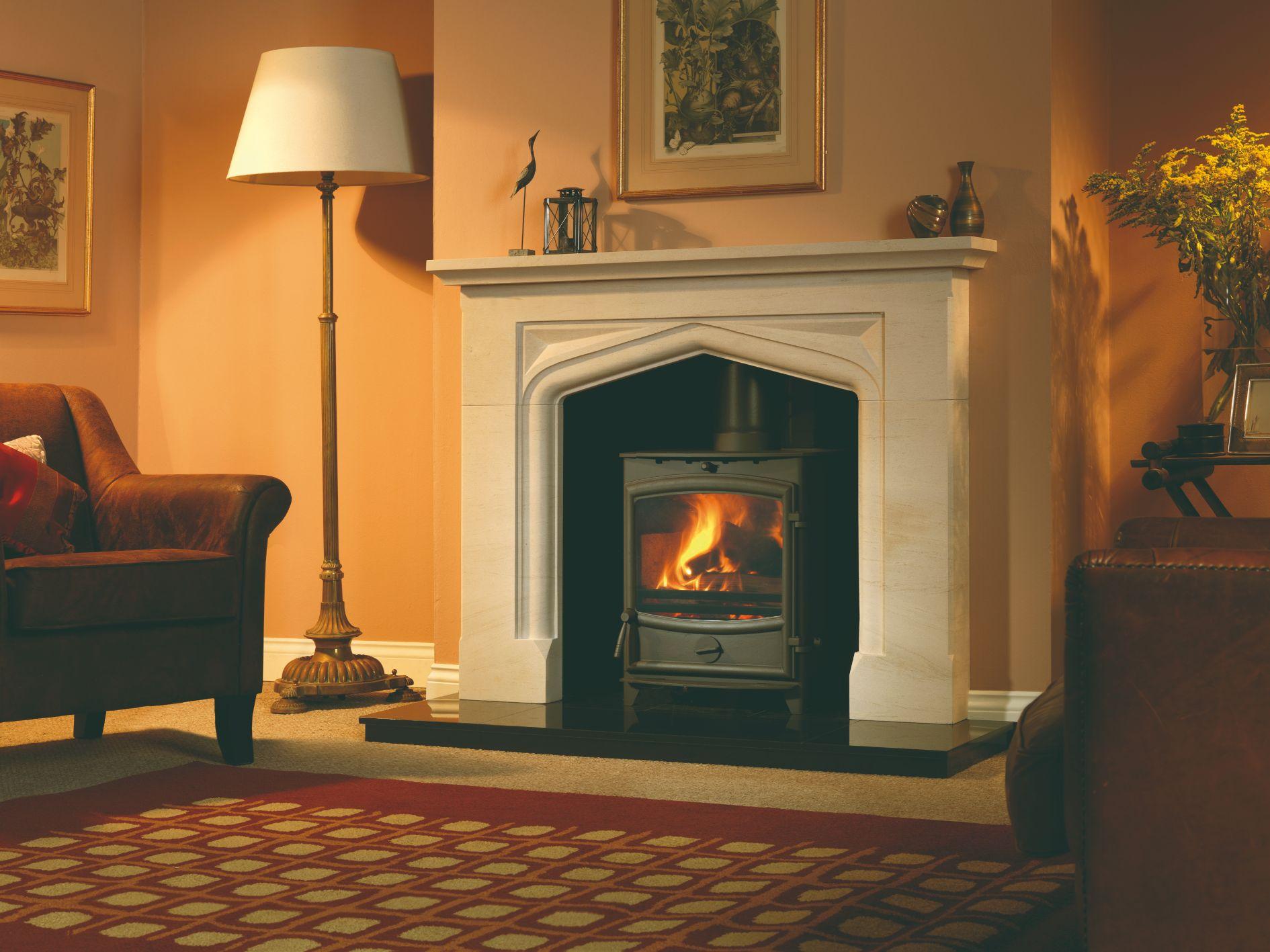 FX8 Boscombe Fireplace Surround and Granite Chamber