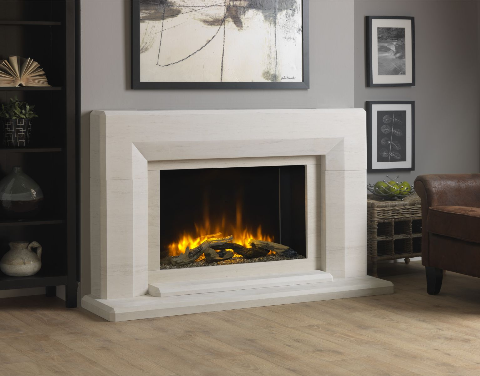 Infinity 780 Electric Fireplace Suite