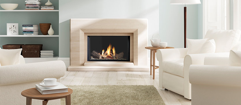 Infinity Gas Fire in Fireplace Suite