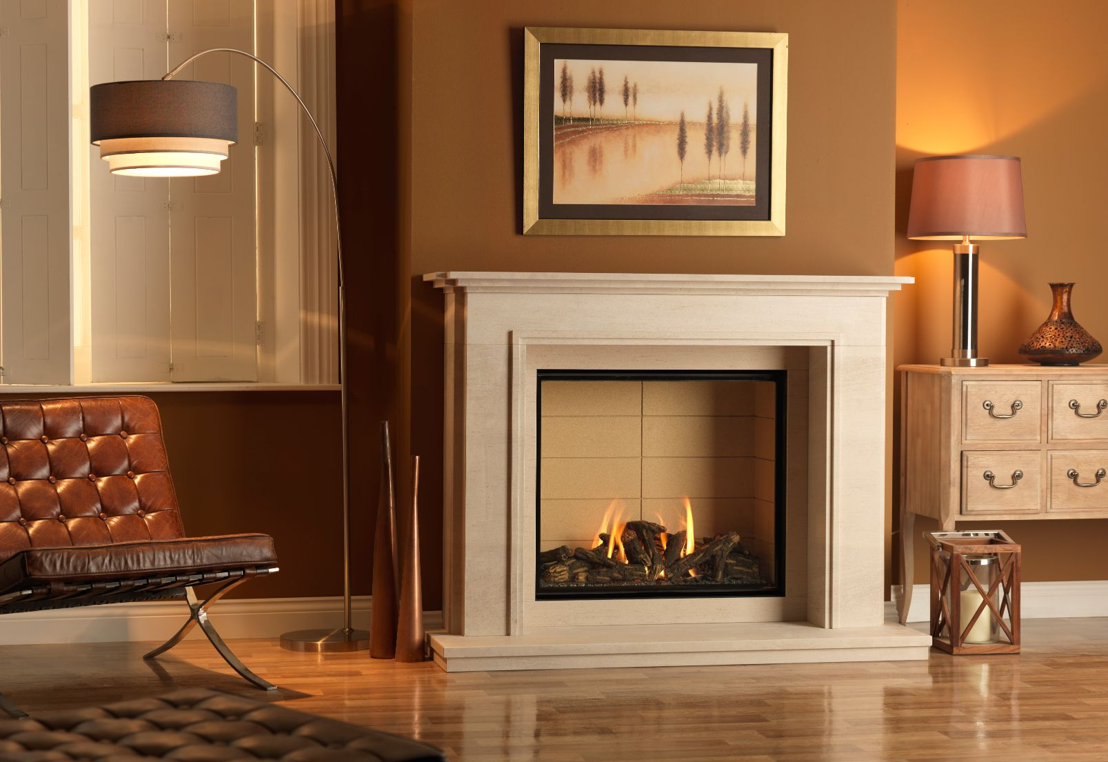 Infinity 800HD Gas Fireplace Suite