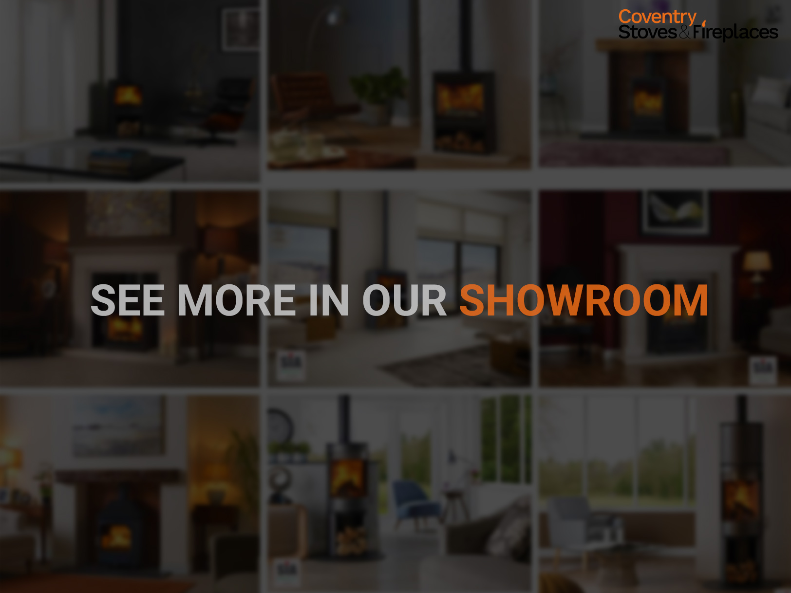 See More Log Burners, Stoves, Gas Fires, Gas Stoves, Gas Fireplaces and Electric Fires in our Showroom
