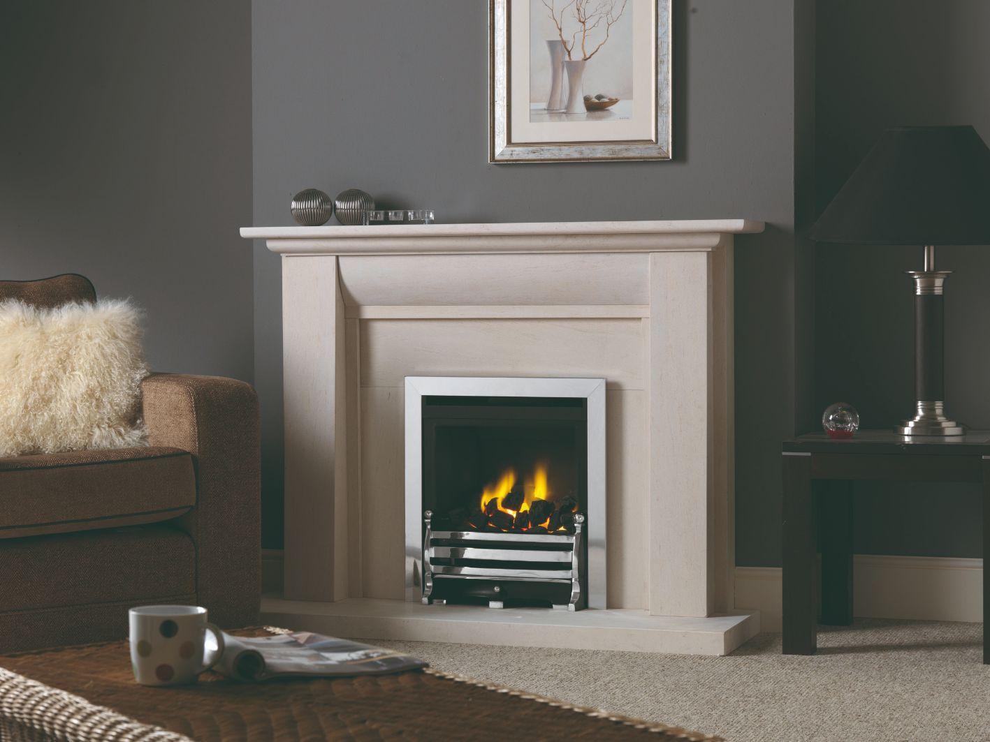 Stokesay Limestone Fireplace Surround