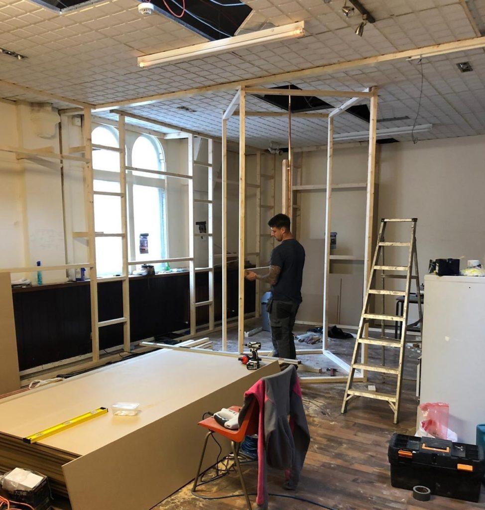 The Binley Oak Work In Progress 2