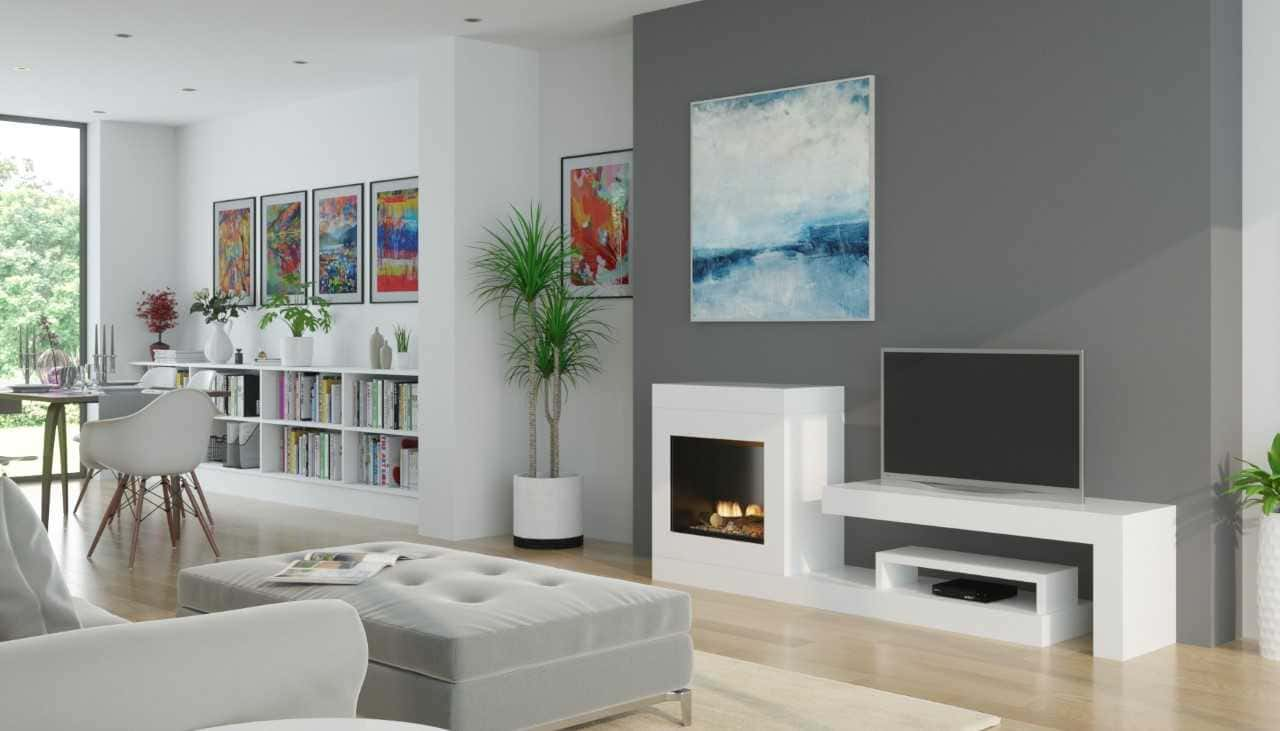 Rialto Freestanding Electric Fireplace Suite Coventry