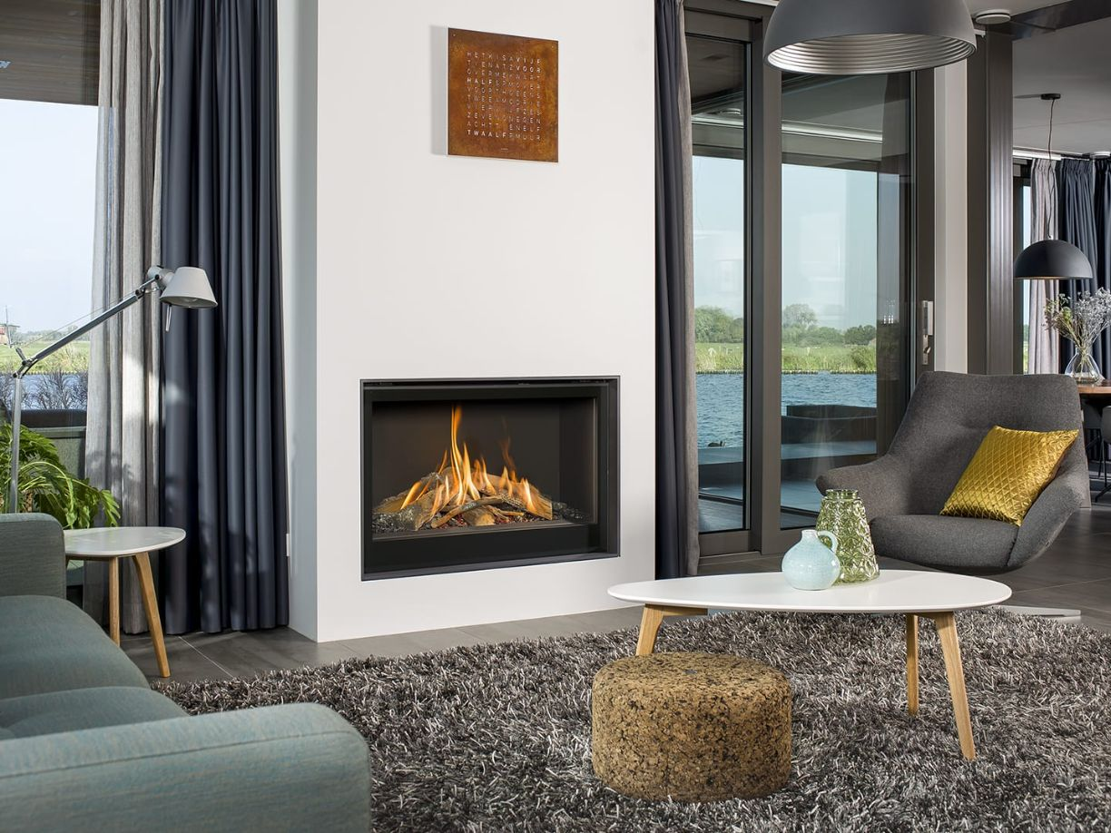 Smart Bell 90-70 Hole in the Wall Gas Fire