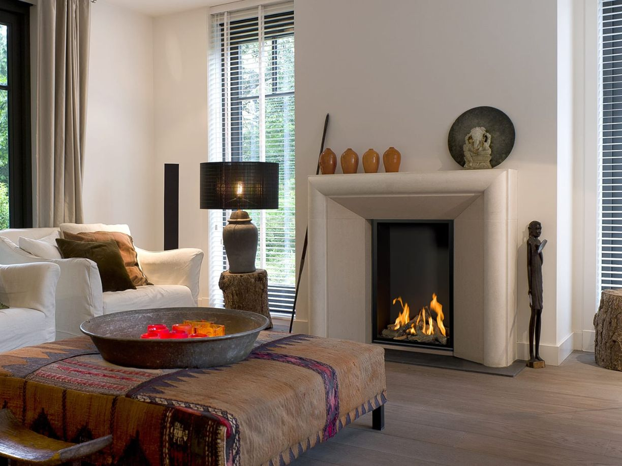 Vertical Bell Small 3 Gas Fireplace