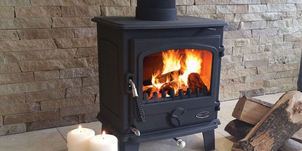 Picture of Eden 5kW Freestanding Multi Fuel Stove Log Burner Fitted